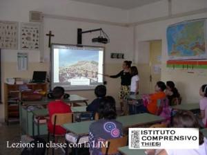 lezione con la LIM